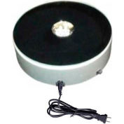 """Electrical Turn Table, 6""""Dia. x 1-3/4""""H, Load Capacity: 7 Lbs"""