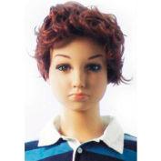 Mannequin Wig, Boys Wavy Hair - Brown