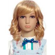 Mannequin Wig, Girls Wavy Hair - Blonde