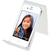 """Acrylic Cellular Phone Display, 4.8""""L x 2.5""""W x 3.5""""H, Clear - Pkg Qty 10"""