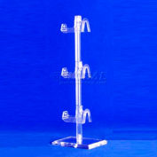 Acrylic Eyewear Display, 3 Tier - Pkg Qty 10