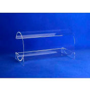 "Acrylic Horizontal Headband Display, 12""W x 6""D x 6-1/2""H, Clear"