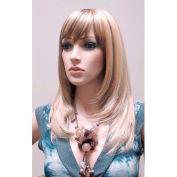 Mannequin Wig, Female Straight Hair - Blonde