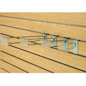 "8"" Special Slatwall Hooks With Plastic Label Holder, Zinc - Pkg Qty 100"