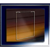"""Acrylic Clear Sign Holder For Slatwall, 7""""W x 11""""H, 3/32 Thickness - Pkg Qty 25"""