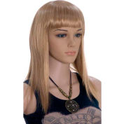 Mannequin Wig, Female Straight Hair with Bangs - Blonde