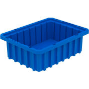 Akro-Mils Akro-Grid Dividable Container 33103 10-7/8 x 8-1/4 x 3-1/2 Blue - Pkg Qty 20
