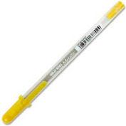 Sakura® Metallic Gel Ink Pen, 1.0mm Ball, 0.4mm Line, Gold Ink