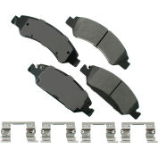 Akebono AKACT1363 ProACT Ultra Premium Ceramic Disc Brake Pad Kit