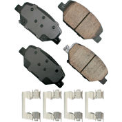 Akebono AKASP1886 Performance Ultra Premium Ceramic Disc Brake Pad Kit