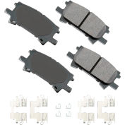 Akebono AKASP996A Performance Ultra Premium Ceramic Disc Brake Pad Kit