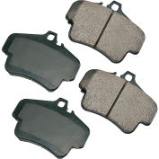 Akebono AKEUR776 EURO Ultra Premium Ceramic Disc Brake Pad Kit