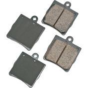 Akebono AKEUR779 EURO Ultra Premium Ceramic Disc Brake Pad Kit