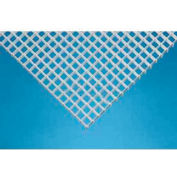 Silver, Aluminum Eggcrate Louver Package of 2