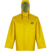 Viking® Journeyman Jacket with Hood, Yellow, XL, 5125J-XL