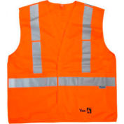 Viking® FR Safety Vest, Orange, 4XL/5XL