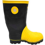 Viking® Miner49ER Mining Boots, Black/Yellow, Size 14