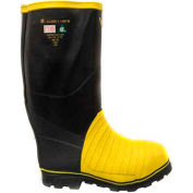 Viking® Miner49ER Tall Mining Boots, Black/Yellow, Size 10