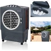 Honeywell Indoor/Outdoor Portable Evaporative Air Cooler CO48PM, 100 Pint