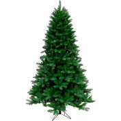 Christmas Time Artificial Christmas Tree - 7.5 Ft. Greenland Tree - Clear Smart Lights