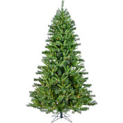 Christmas Time Artificial Christmas Tree - 7.5 Ft. Norway Pine - Clear LED Lights