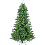 Christmas Time Artificial Christmas Tree - 7.5 Ft. Norway Pine - Multi LED Lights
