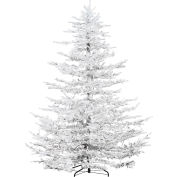 Fraser Hill Farm Artificial Christmas Tree - 9 Ft. Arctic Pine - Smart Clear Lights