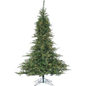 Fraser Hill Farm Artificial Christmas Tree, 7.5 Ft. Cluster Pine, Smart String Clear LED Lights