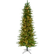 Fraser Hill Farm Artificial Christmas Tree - 7.5 Ft. Carmel Pine - 8F Clear LED Lights