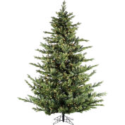 Fraser Hill Farm Artificial Christmas Tree, 7.5 Ft. Foxtail Pine, Smart String Clear LED Lights
