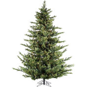 Fraser Hill Farm Artificial Christmas Tree, 7.5 Ft. Foxtail Pine, Clear LED Lights