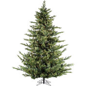 Fraser Hill Farm Artificial Christmas Tree - 9 Ft. Foxtail Pine - Multi-Color LED String Lighting