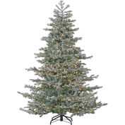 Fraser Hill Farm Artificial Christmas Tree - 7.5 Ft. Oregon Fir - Clear HLED Lights