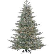 Fraser Hill Farm Artificial Christmas Tree - 9 Ft. Oregon Fir - Smart Clear Lights
