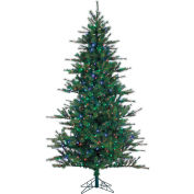 Fraser Hill Farm Artificial Christmas Tree - 6.5 Ft. Southern Peace Pine - Multi-Color LED Lighting