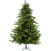Fraser Hill Farm Artificial Christmas Tree, 7.5 Ft. Southern Peace Pine, Clear LED Lights