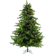Fraser Hill Farm Artificial Christmas Tree, 7.5 Ft. Southern Peace Pine, Multi LED Lights