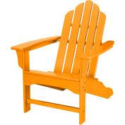 Hanover All-Weather Contoured Adirondack Chair, Tangerine