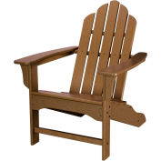 Hanover All-Weather Contoured Adirondack Chair, Teak