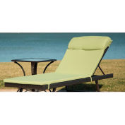 Hanover Orleans Chaise Lounge Cushion in Avocado