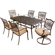Hanover Traditions 7-Piece Outdoor Dining Set