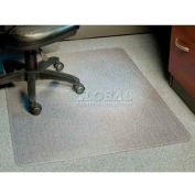 """Aleco® AnchorBar® Office Chair Mat for Carpet - 46""""W x 60""""L, .110"""" Thick - Beveled Edge"""