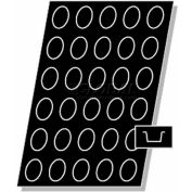 "Allied Metal Spinning ALL1270 - Flexipan, 2-3/4"" x 2"" x 1-3/16"", 3 Oz., Regular, Oval"