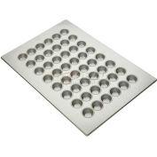 "Allied Metal Spinning ALL45295 - Muffin Pan,  48 Cup, 1-7/8"" Top ID x 1-1/4"" Deep, Mini Muffin Pan"