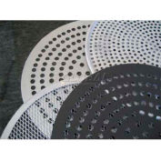 """Allied Metal Spinning CCPD6X15 - Pan, 6"""" ID x 1-1/2"""", Tapered, Perforated Disc, Removable Bottom"""