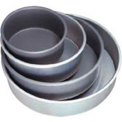 "Allied Metal Spinning CPHA18X.5 - Pizza Pan, 18"" ID x 1/2"", 14 Ga. Aluminum With Anodized Hard Coat"