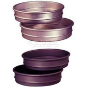 "Allied Metal Spinning CPHSA22X2 - Pizza Pan, 22"" ID x 2"", Stacking, 16 Ga. Aluminum,  Hard Coat"