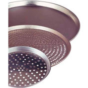 """Allied Metal Spinning CPTP7X2 - Pizza Pan, 7"""" Top ID x 6"""" Bottom ID x 2"""", Nests, Perforated, 18 Ga."""