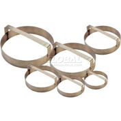 """Allied Metal Spinning DCR15 - Cutting Ring, 15"""" ID x 3"""", With Built-In Handle, Stainless Steel"""