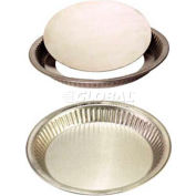 "Allied Metal Spinning FPFLB211 - Pie Pan, 11"" Top OD x 1-1/2"" Deep, Fluted, Loose Bottom, 16 Ga."